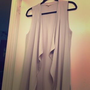 Beautiful, drapey, lilac vest!